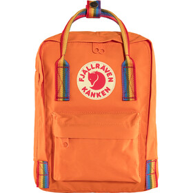 Fjällräven Kånken Rainbow Mini Zaino Bambino, burnt orange/rainbow pattern